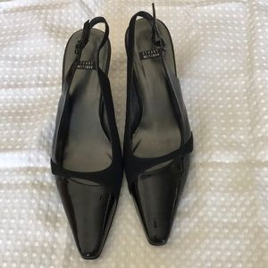 STUART WEITZMAN LEATHER HEEL SIZE 8.5B